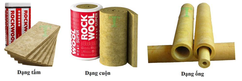 Bông Khoáng, Tấm Rockwool Cách Âm Cách Nhiệt Chống Cháy