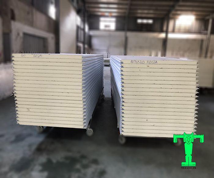 Tấm Panel PU có khả năng cách nhiệt, cách âm và chống cháy hiệu quả