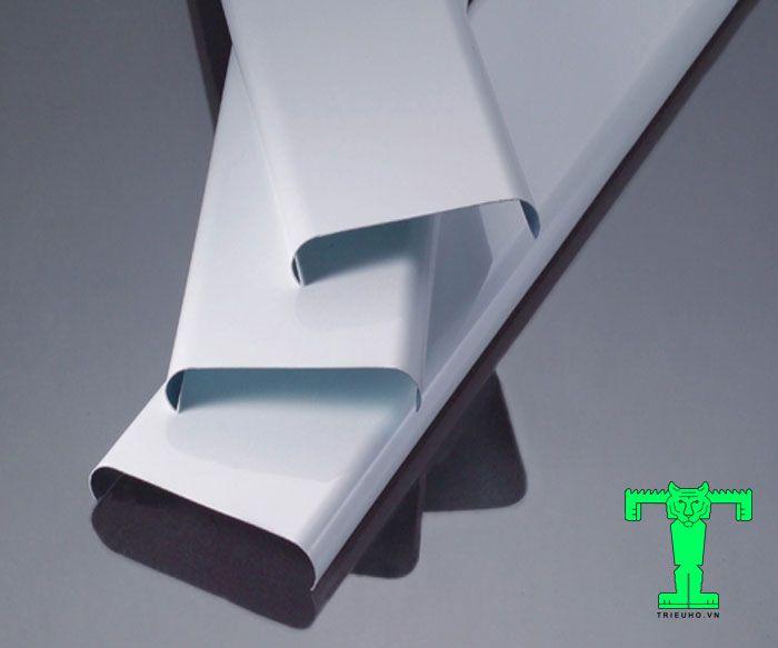 Trần nhôm sọc C85 dạng thanh, hình chữ C, rộng 85mm, dày nhôm là 0.6mm đến 0.8mm