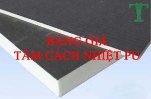 Bảng Giá Tấm Cách Nhiệt PU, Chống Nóng Cho Tường, Trần, Sàn