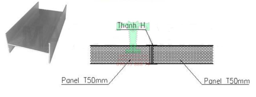 Hướng dẫn lắp đặt thanh H nối tấm