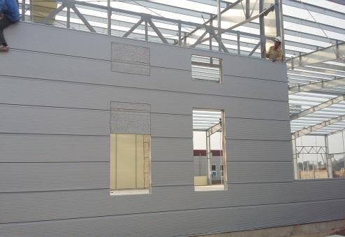 Lắp đặt vách panel Rockwool chống cháy