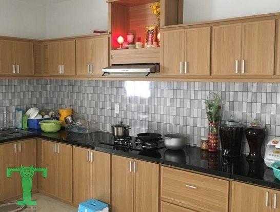 Ứng dụng tấm nhựa PVC làm tủ bếp