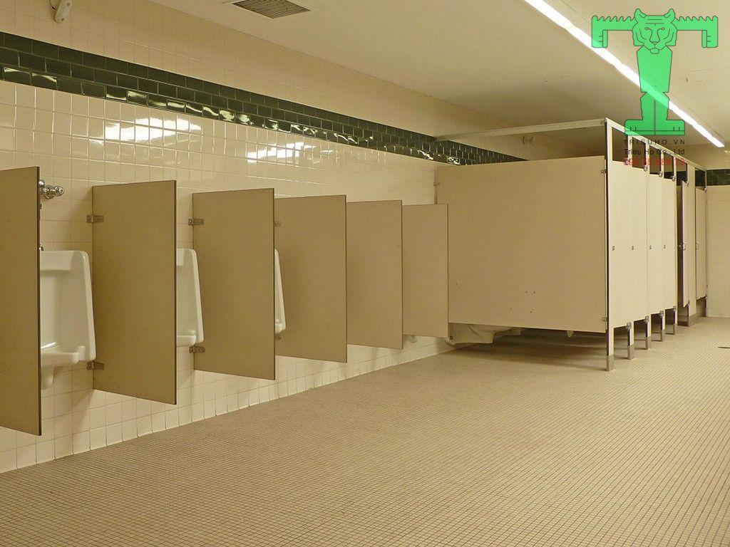 Quy trình thi công vách ngăn vệ sinh hoàn thành
