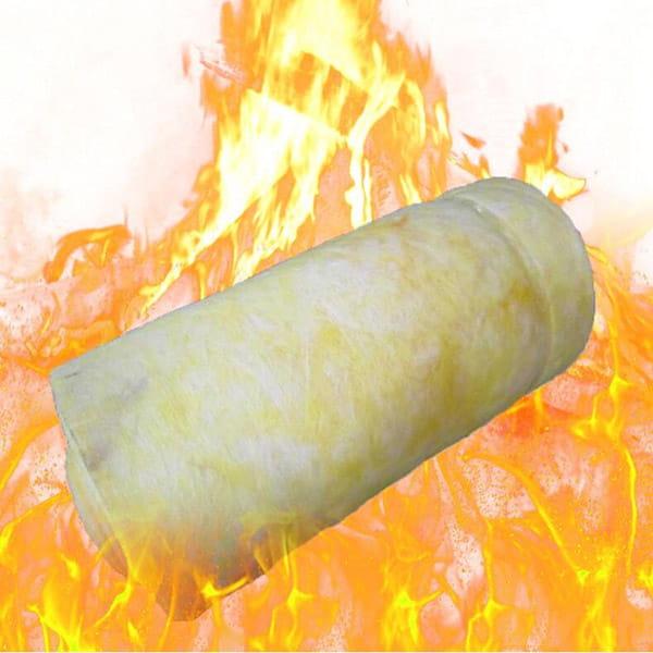 Tính chống cháy của bông thủy tinh cách nhiệt