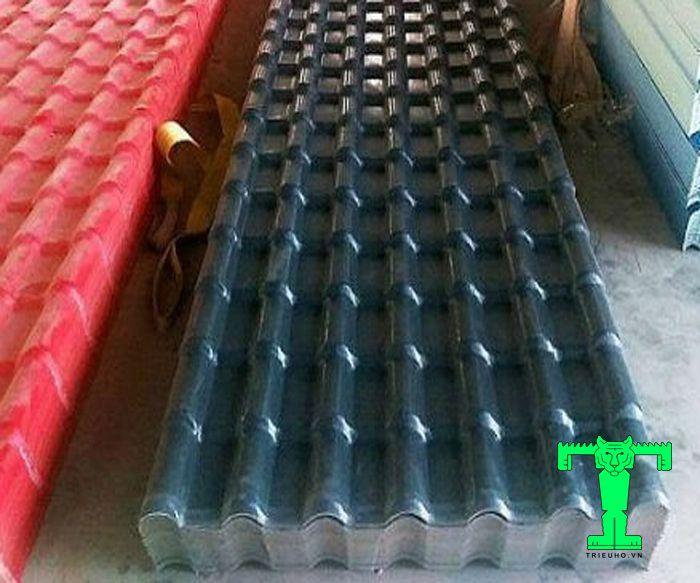 Lắp đặt ngói nhựa PVC cần phải từ cách xếp ngói, bắn ốc...
