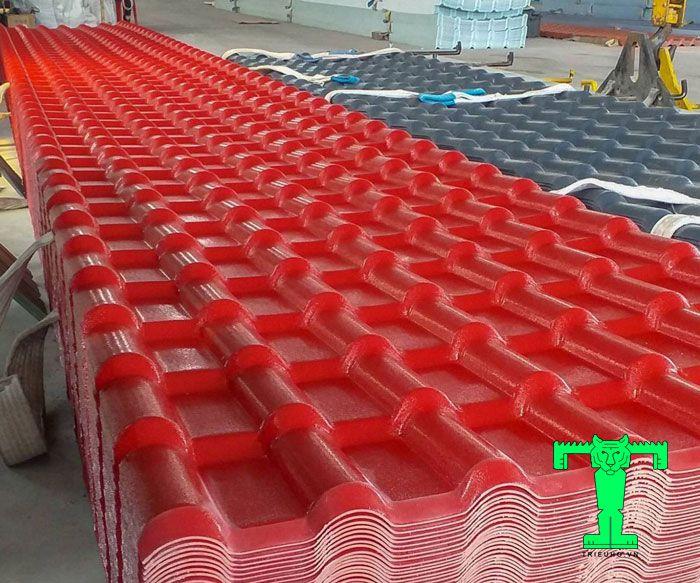 Tôn nhựa PVC ứng dụng phổ biến trong nhiều công trình hiện nay