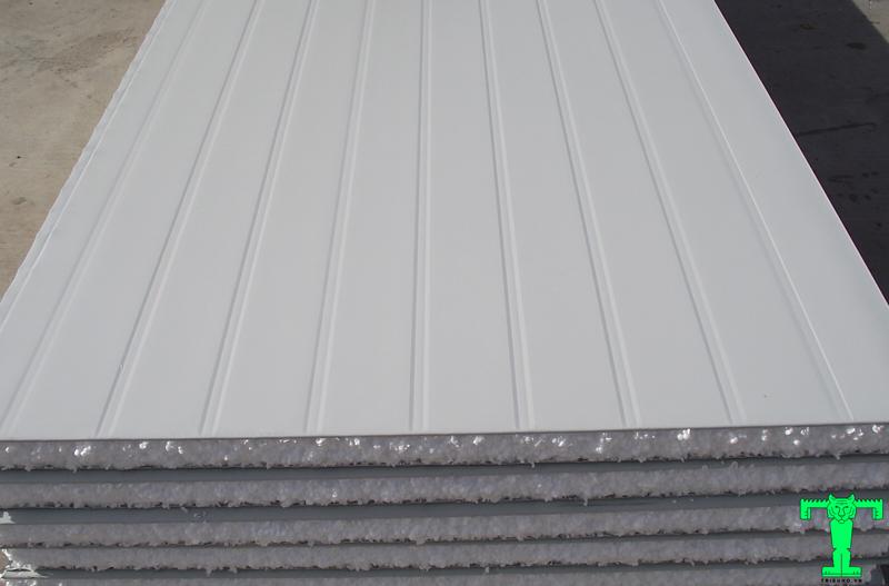 Cấu tạo tấm Panel EPS, Panel Cách Nhiệt, Sanwich Panel, Tấm Cách Nhiệt Panel