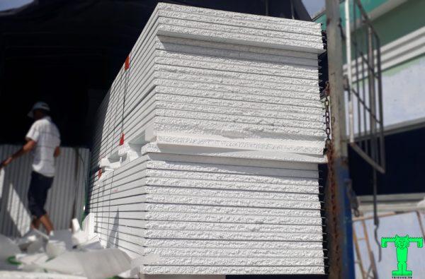 Panel EPS, Panel Cách Nhiệt, Sandwich Panel, Tấm Cách Nhiệt Panel