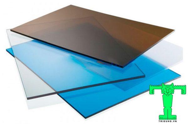 Tấm Lấy Sáng Polycarbonate Đặc Ruột, Tấm Nhựa Poly