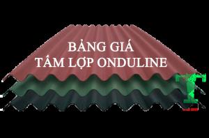 Bảng Giá Tấm Lợp Sinh Thái Onduline