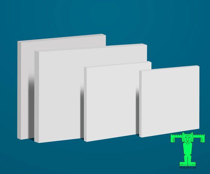 Vách nhựa Picomat có thành cấu tạo chính làPolivinyl Clorua hay còn gọi là bột nhựa PVC